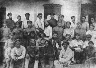 Политработники Латышской стрелковой дивизии. Август 1920 года