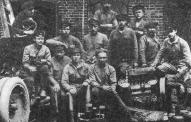 Группа стрелков 6-го латышского стрелкового полка