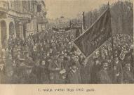 1 maija svētki Rīgā 1917g