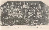 Padomju Latvijas Kara komisariāta darbnieki 1919g
