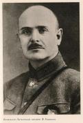 Начальник Латышской дивизии Ф.Калнинь.