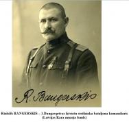Rudolfs BANGERSKIS – 1.Daugavgrivas latviesu strelnieka bataljona komandieris