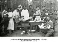 Latviesu strelnieku bataljona parsienamais punkts, 1916