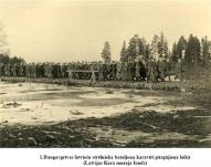 1.Daugavgrivas latviesu strelnieka bataljona karaviri pargajiena laika