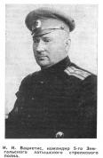 И.Вациетис, командир 5-го Земгальского латышского стрелкового полка из статьи Моя жизнь и мои воспоминания