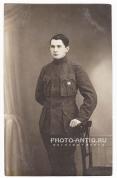 Вольноопределяющийся Латышского стр. батальона. до 1917г. (источник указан на фото)