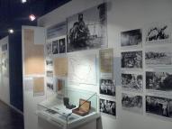 Экспозиция о Белых Латышских стрелках: фотографии и витрины. (2)