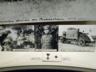 Эстонский госпиталь, младший лейтенант, бронеавтомобиль, 1919 год. Внизу - Крест Свободы 3-й степени и кокарда.