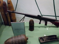 Французский пулемёт системы Шоша, образец 1915 года.