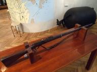 Винтовка системы Бердана №2 образец 1870г, изготовлена на Сестрорецком заводе в 1881г, Латвийский Военный музей_